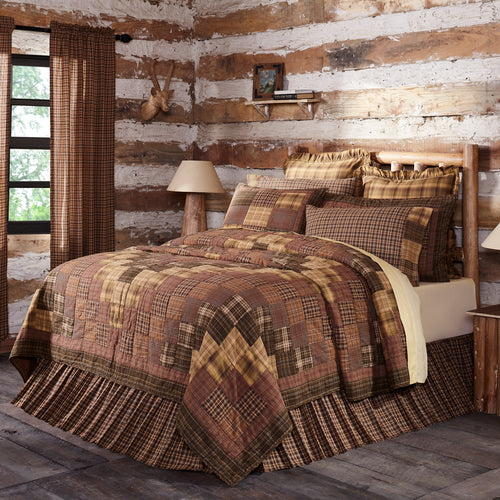 Prescott Luxury King Quilt 120Wx105L - Woodrol