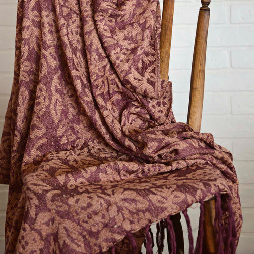 Berkeley Chenille Jacquard Woven Throw 60x50 - Woodrol
