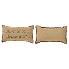 Prancer Pillow Set of 2 7x13 - Woodrol