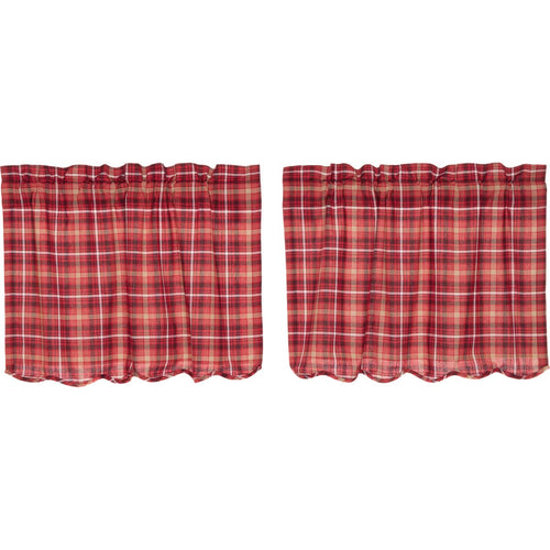 Braxton Scalloped Tier Set of 2 L24xW36 - Woodrol