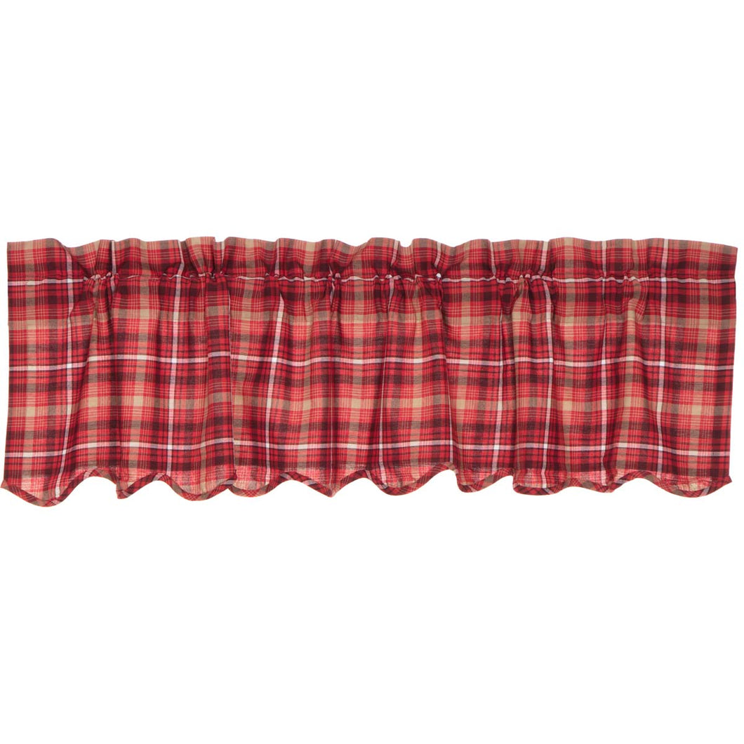 Braxton Scalloped Valance 16x60 - Woodrol