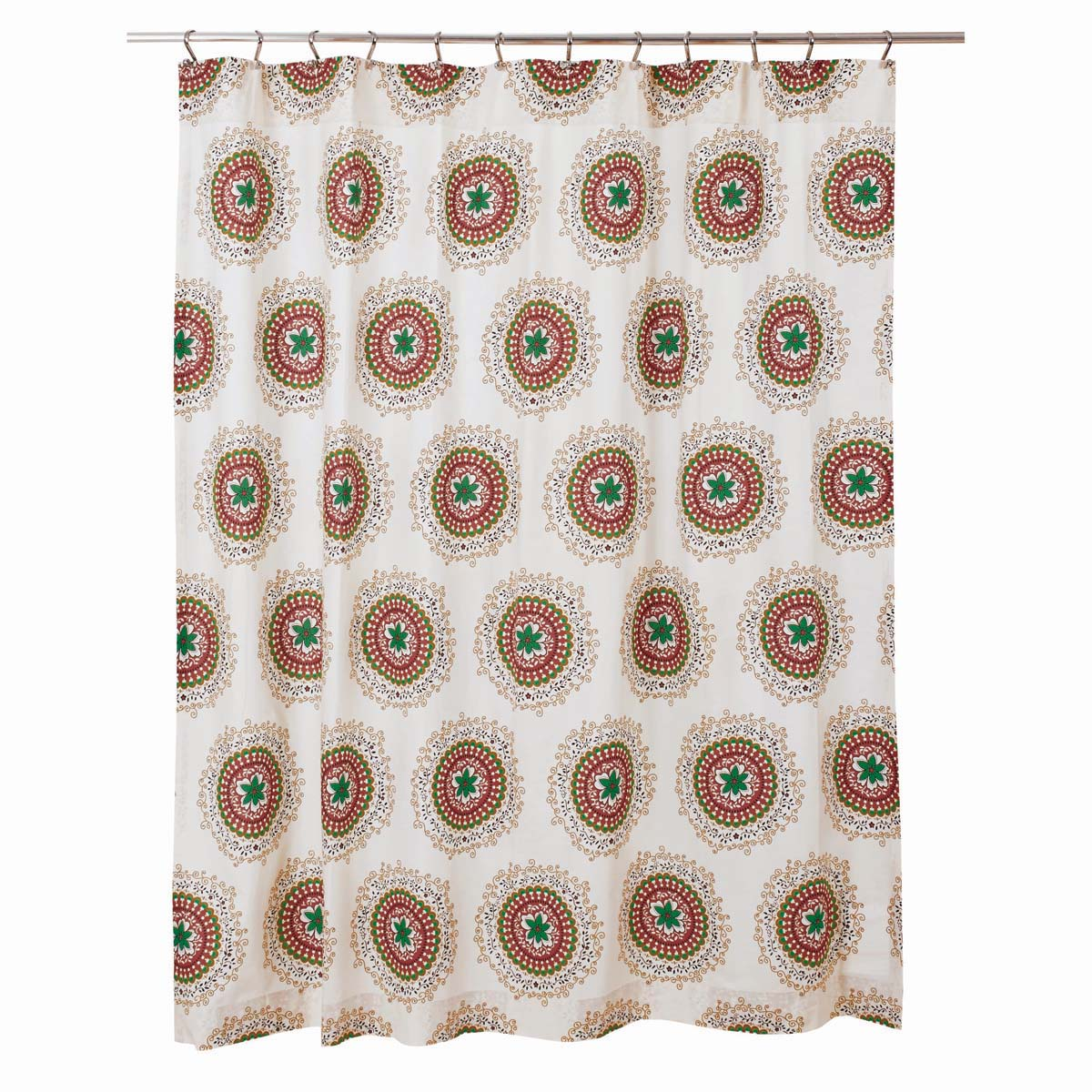 Bermuda Shower Curtain 72x72 - Woodrol