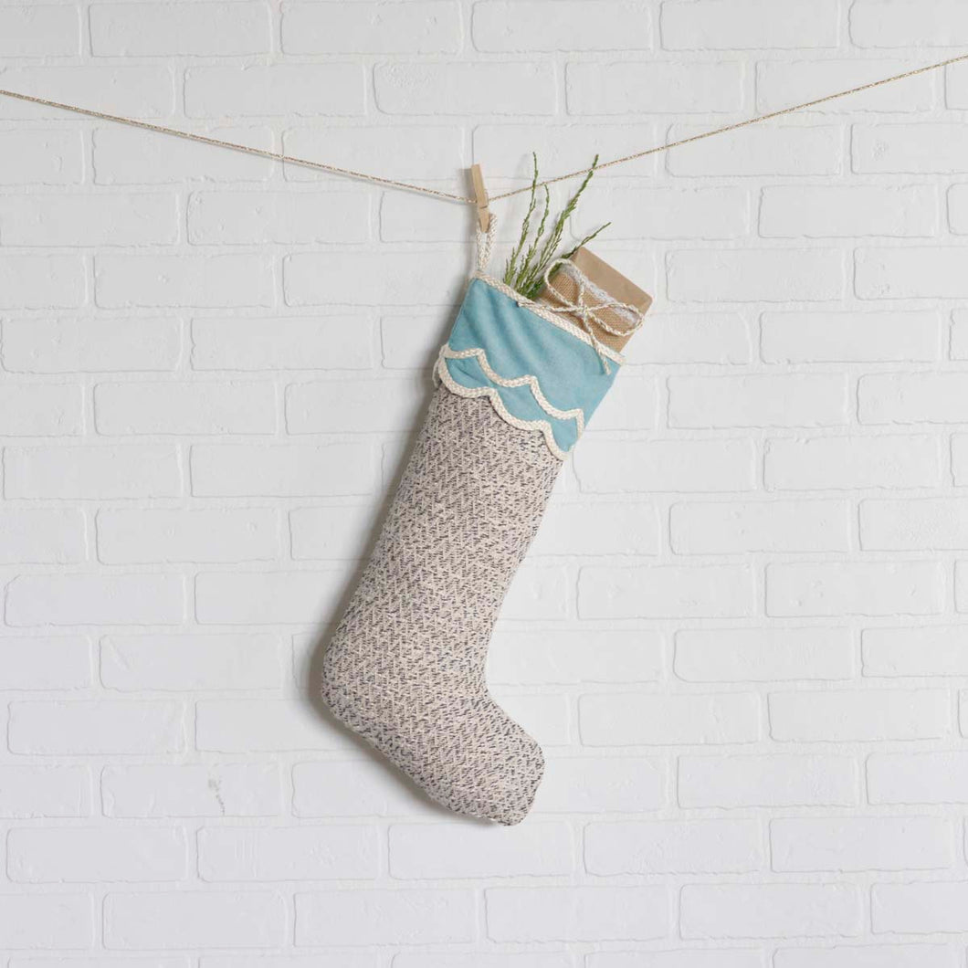 Sanbourne Stocking 11x20 - Woodrol