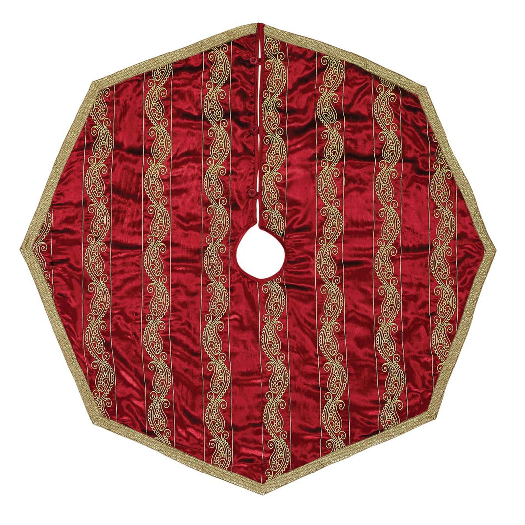 Yule Tree Skirt 48 - Woodrol
