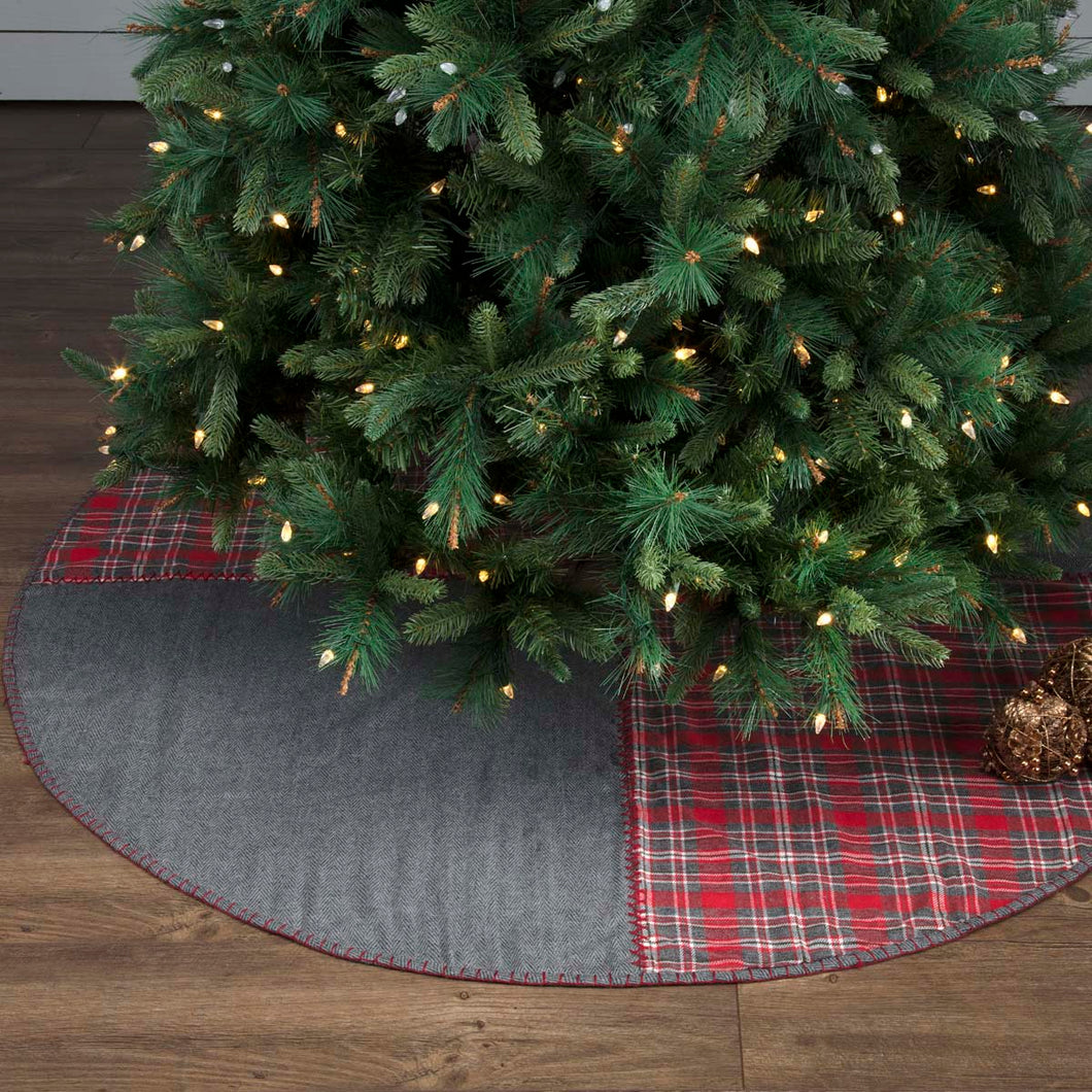 Anderson Patchwork Tree Skirt 60 - Woodrol
