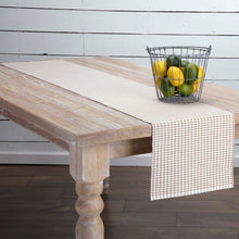 Tara Taupe Ribbed Runner 13x72 - Woodrol