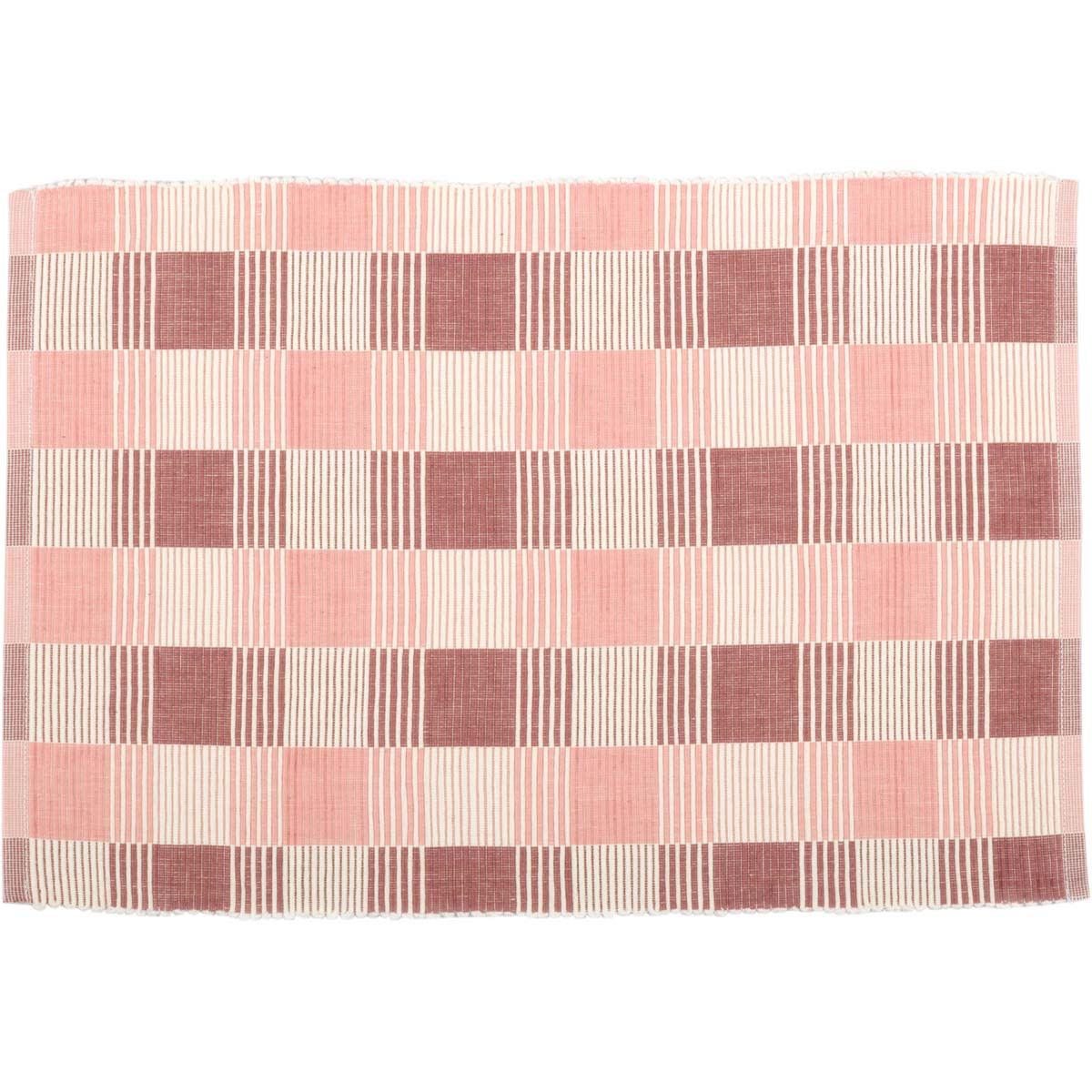 Daphne Ribbed Placemat Set of 6 12x18 - Woodrol