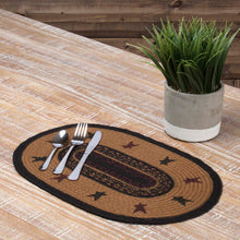 Heritage Farms Star Jute Placemat Set of 6 12x18 - Woodrol