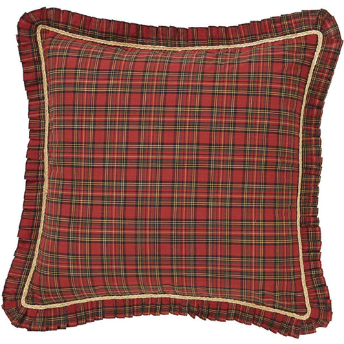 Tea Star Fabric Euro Sham 26x26 - Woodrol