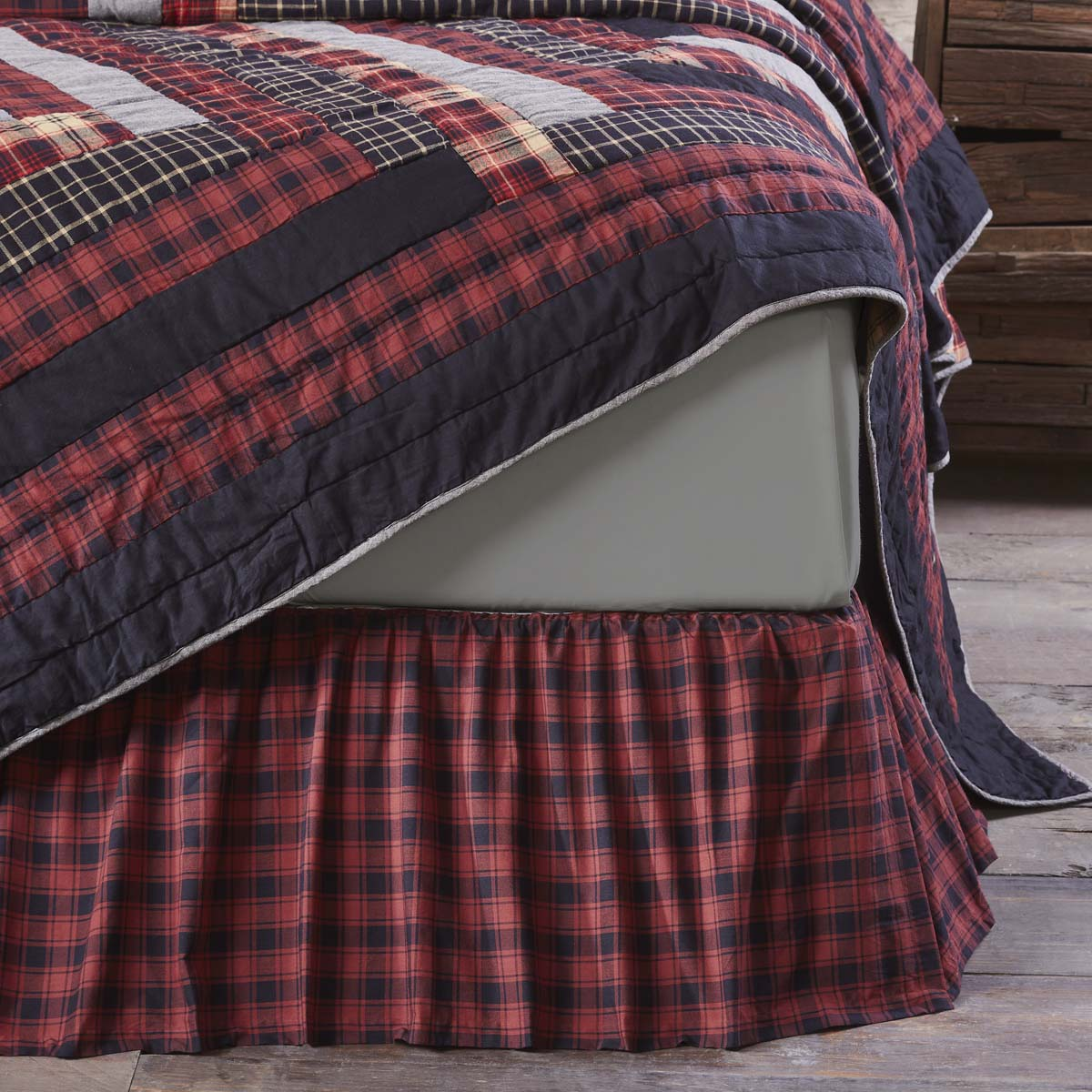 Cumberland King Bed Skirt 78x80x16 - Woodrol