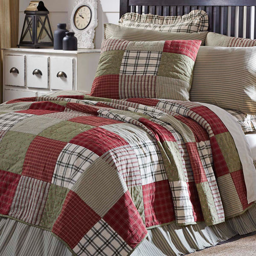 Prairie Winds Luxury King Quilt 120Wx105L - Woodrol