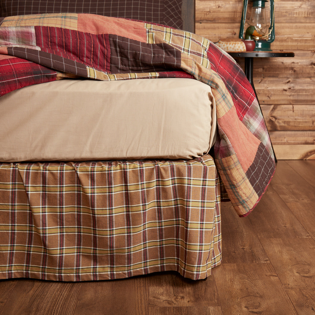 Wyatt Queen Bed Skirt 60x80x16 - Woodrol