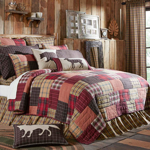 Wyatt Luxury King Quilt 120Wx105L - Woodrol