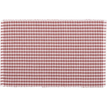 Tara Rust Ribbed Placemat Set of 6 12x18 - Woodrol