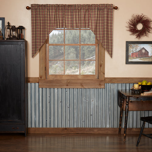Crosswoods Swag Set of 2 36x36x16 - Woodrol
