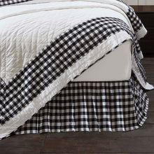 Annie Buffalo Black Check King Bed Skirt 78x80x16 - Woodrol