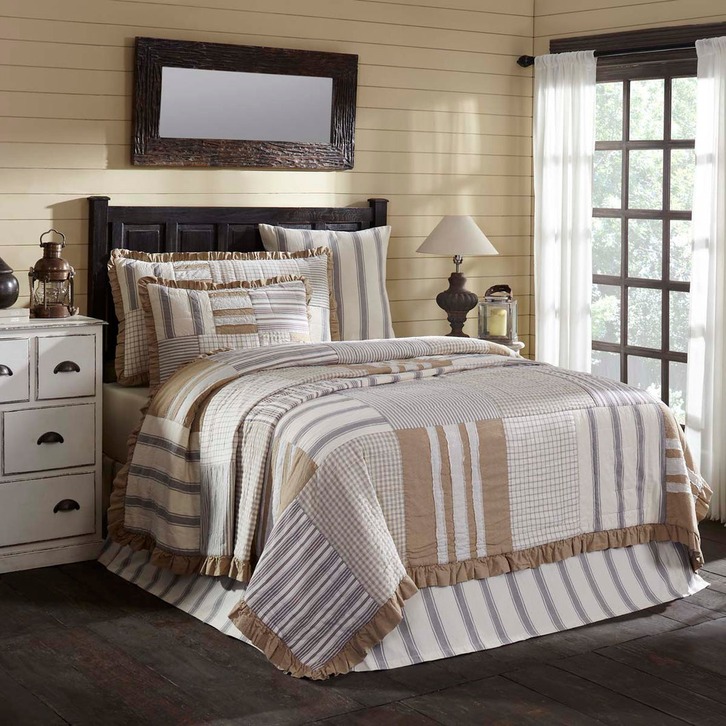 Grace King Quilt 105Wx95L - Woodrol
