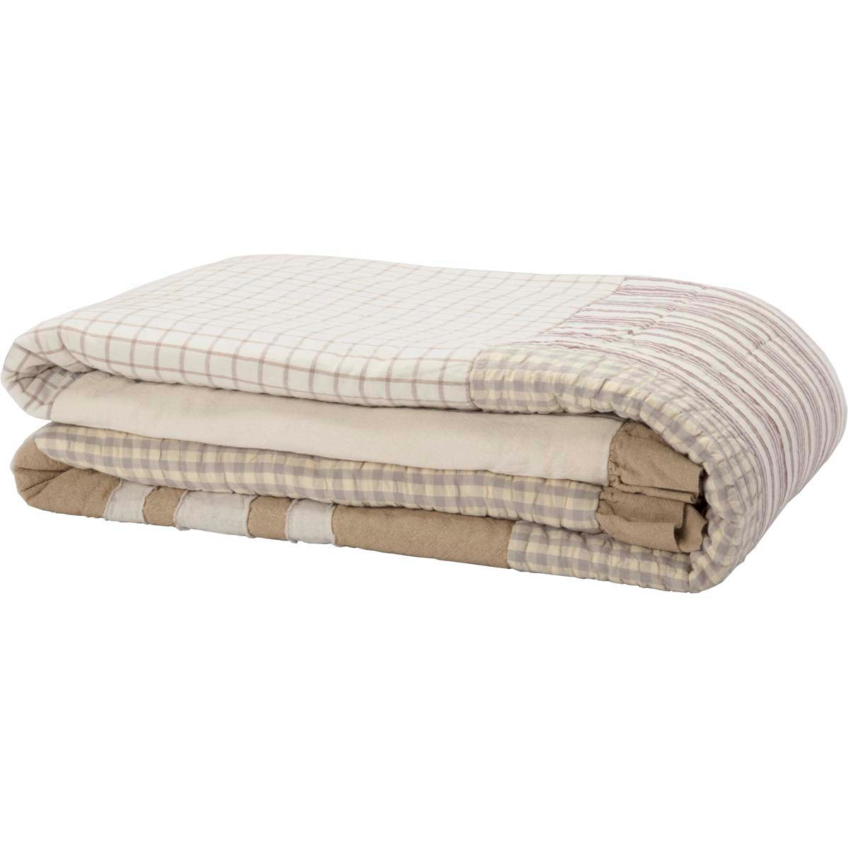 Grace Queen Quilt 90Wx90L - Woodrol