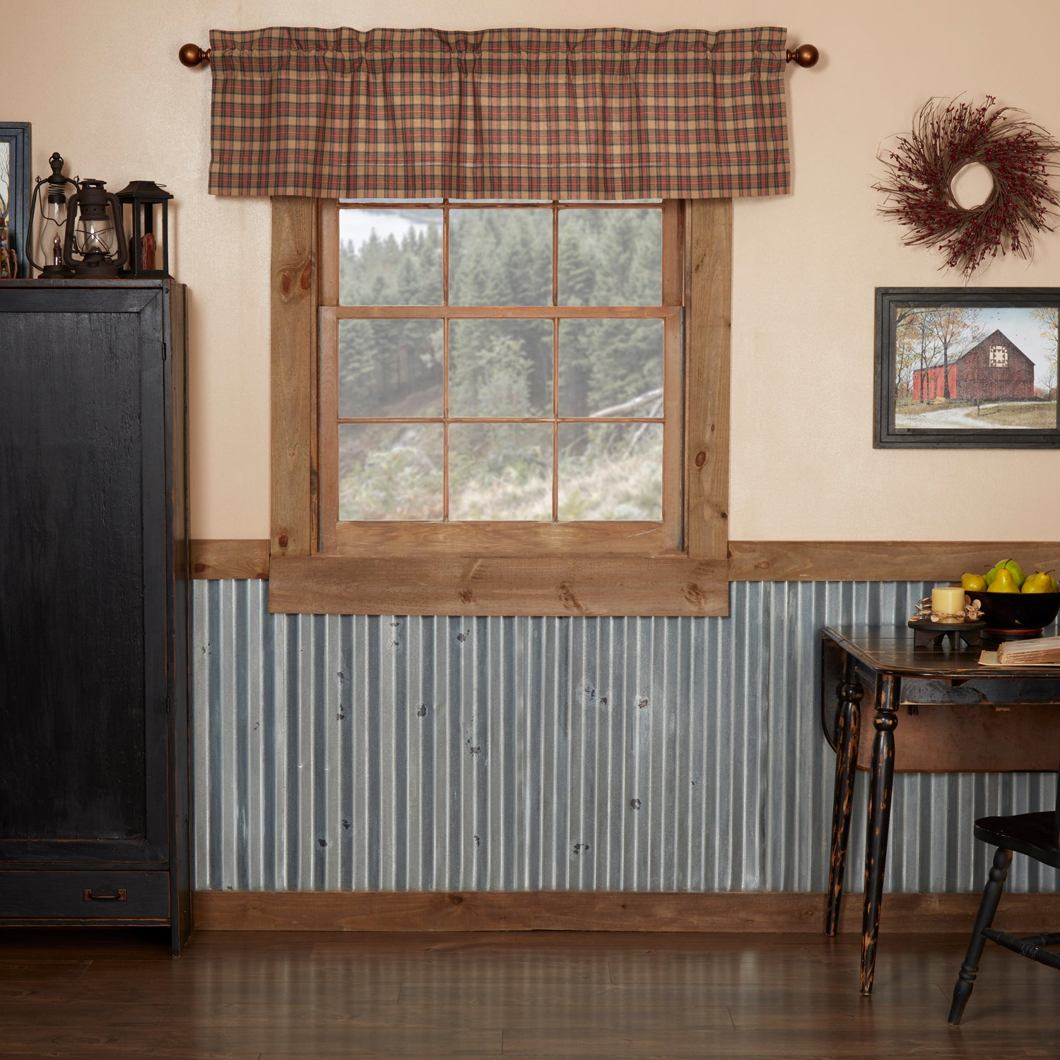 Crosswoods Valance 16x60 - Woodrol