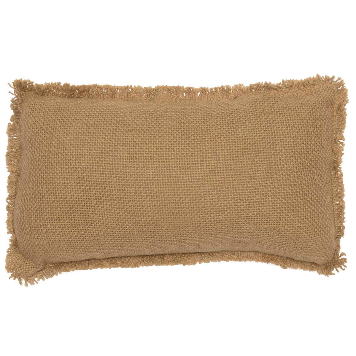 Burlap Natural Pillow Always Kiss Me Goodnight 7x13 - Woodrol