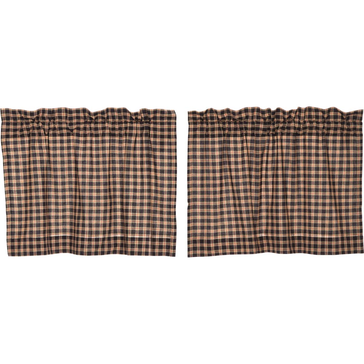 Bingham Star Tier Plaid Set of 2 L24xW36 - Woodrol