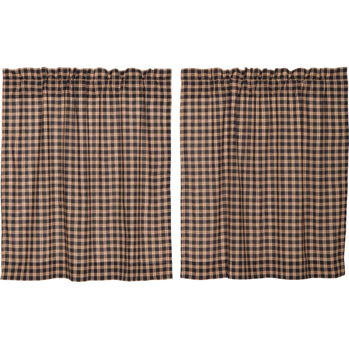 Bingham Star Tier Plaid Set of 2 L36xW36 - Woodrol