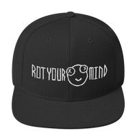 Rot Your Mind (Scratchy) - Snapback Hat