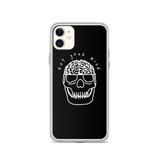 RYM Skull/brain - iPhone Case