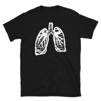 in touch with your roots (lungs) - T-Shirt