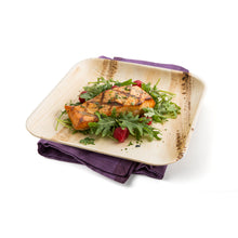 "Load image into Gallery viewer, 9"" Square Palm Leaf Party Plates, perfect for everyday dining, events and occasions."