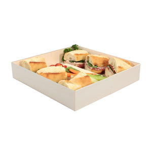 "POPLAR Collection 10"" x 10"" Oblong Pop Up Tray (100 count/case)"