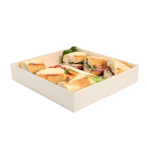 "POPLAR Collection 10"" x 7"" Oblong Pop Up Tray (200 count/case)"