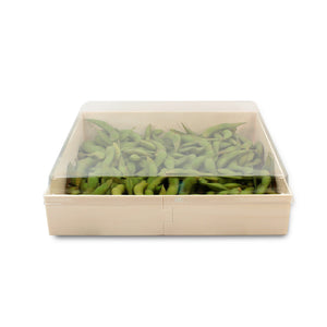 "POPLAR Collection 7"" Square Pop Up Tray LIDS ONLY (200 count/case)"