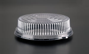 "EMI-360LP Round 16"" PET Dome Lid - Clear"