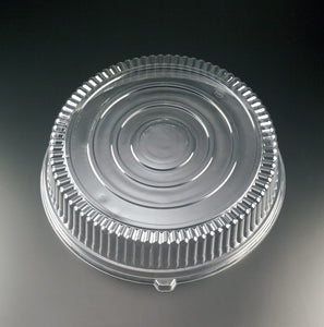 "EMI-320LP Round 12"" PET Dome Lid - Clear"