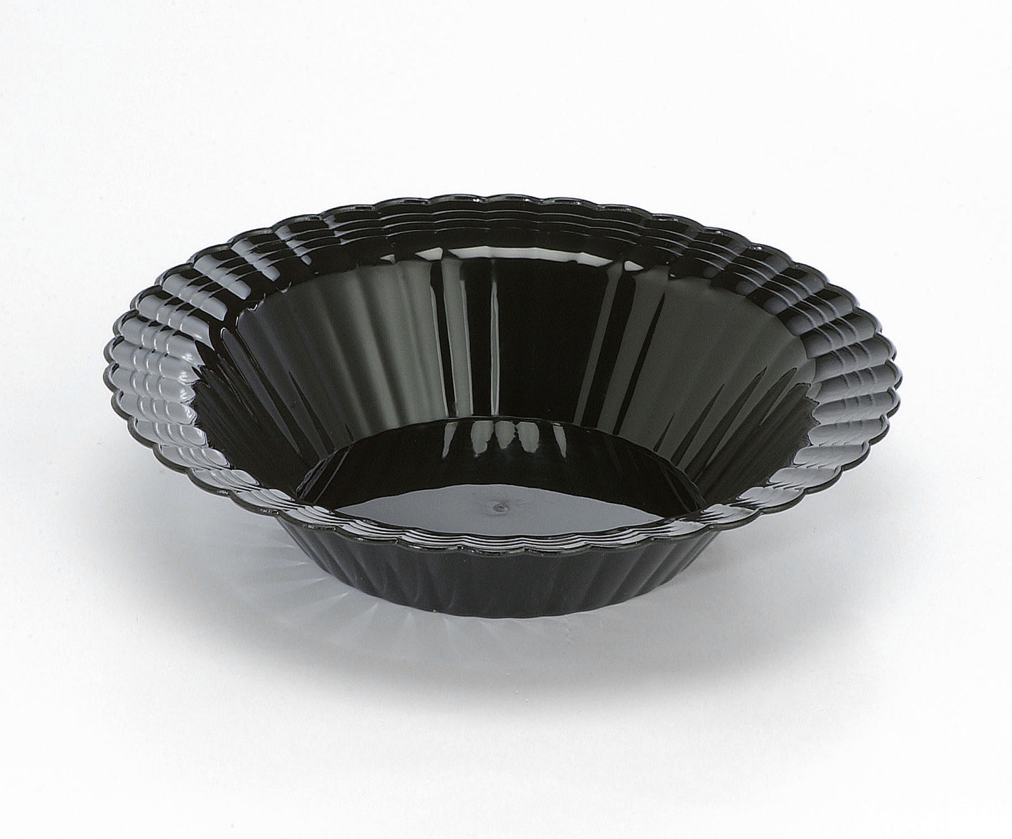 EMI-REB12B Round Single Serve 12 oz Bowl - Black