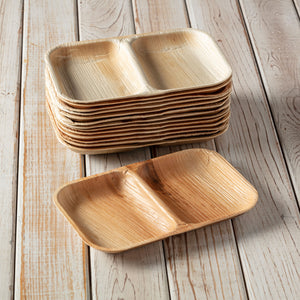 2 Compartment Leaf Tray, 100 count,  wholesale