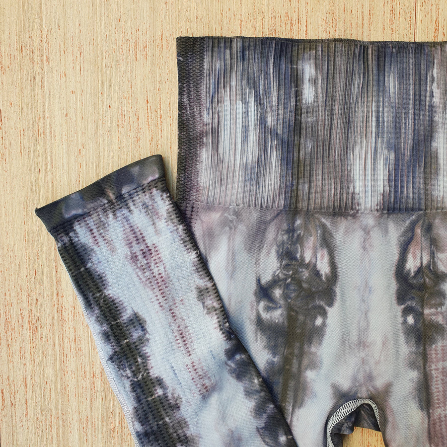 Seamless Dyed Leggings - Grey Shades