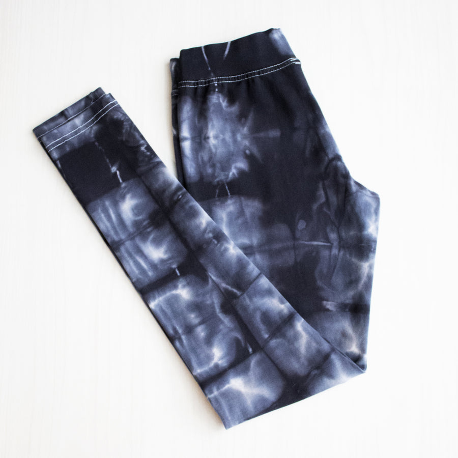 Shibori Leggings - Indigo