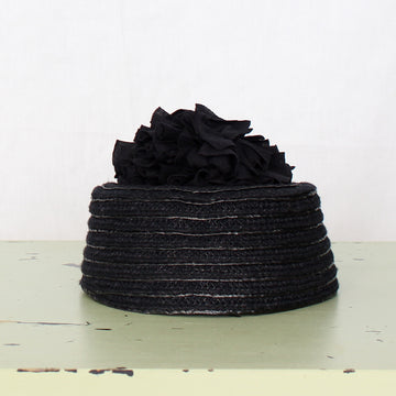 Unique Parisian Pillbox Hat