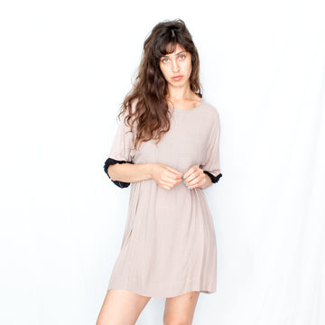 Mini Summer Dress -Nude