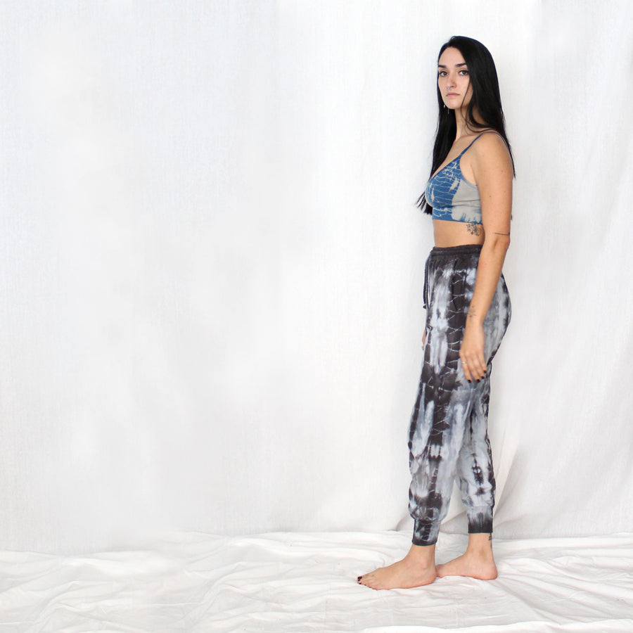 Dyed Jersey Jogger Pants - Blue Sky Shades