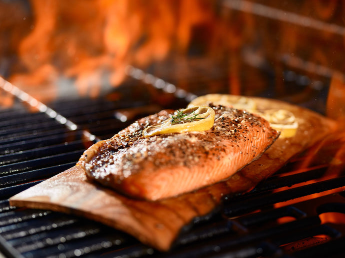 Datil BBQ Grilled Salmon