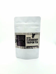 Native Elderberry Yaupon Tea