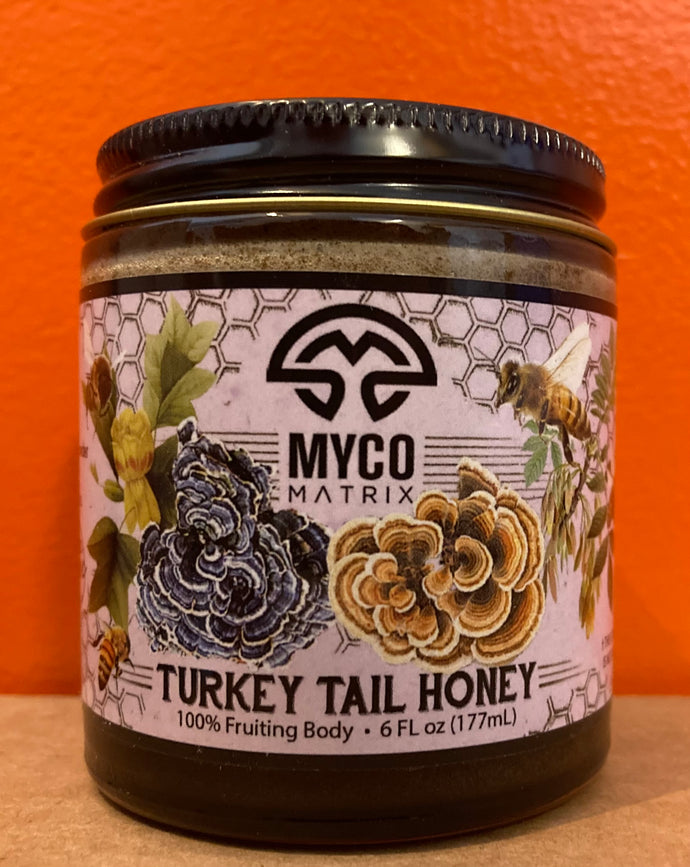 Turkey Tail Honey
