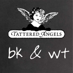 Tattered Angels  - Black & White Paints