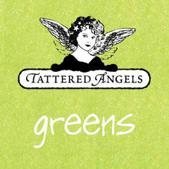 Tattered Angels  - Green Paints