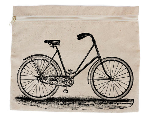 bike zipper tote