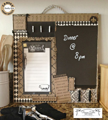 how to make a memo board
