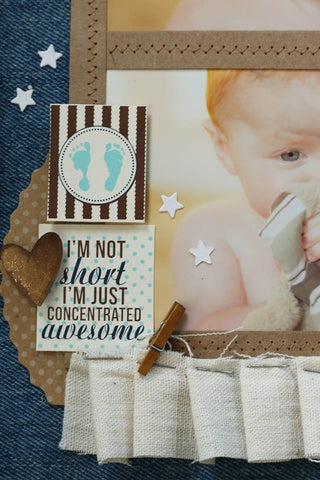 baby boy crafts and party decor